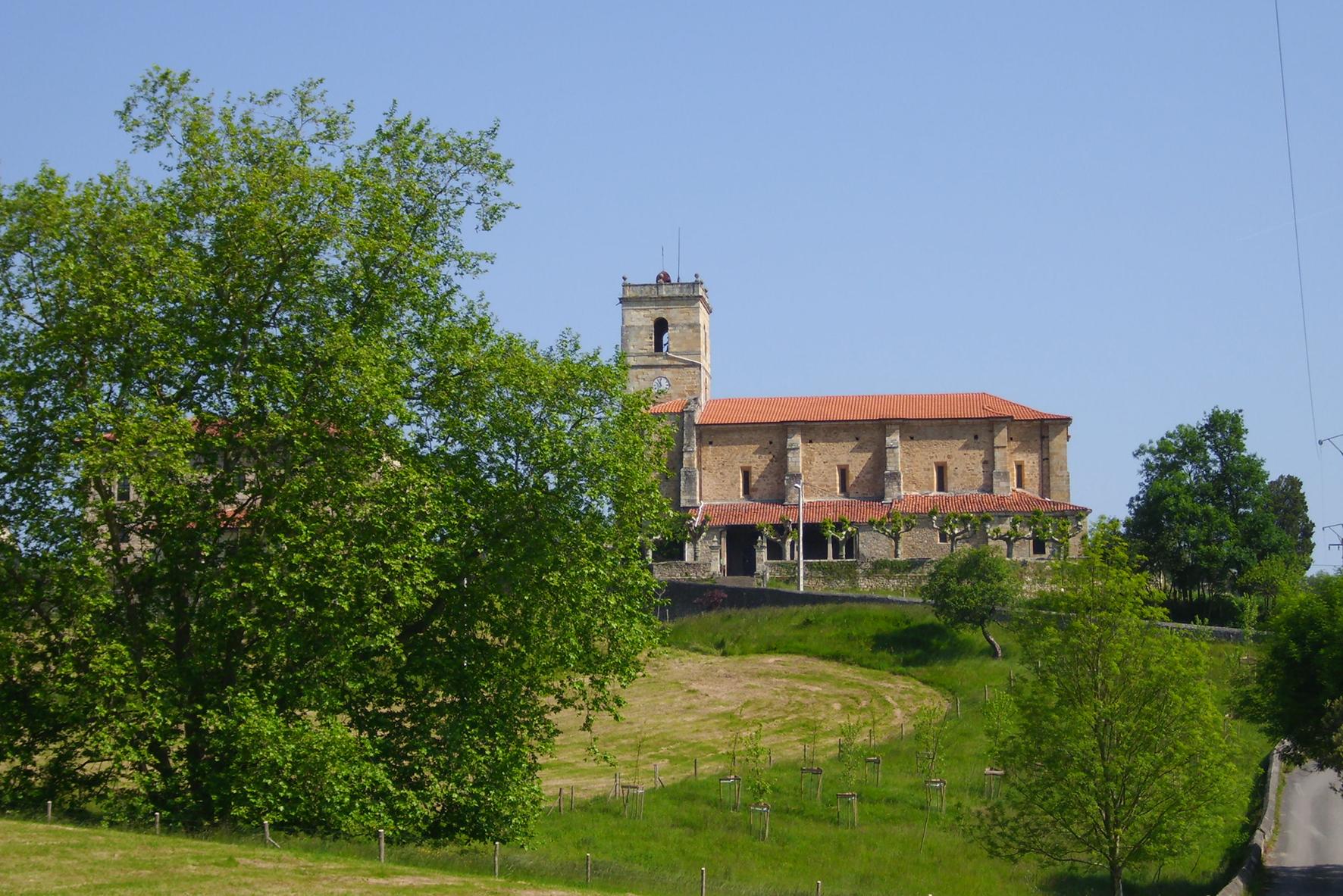 Iglesia de San Cipriano en Beranga