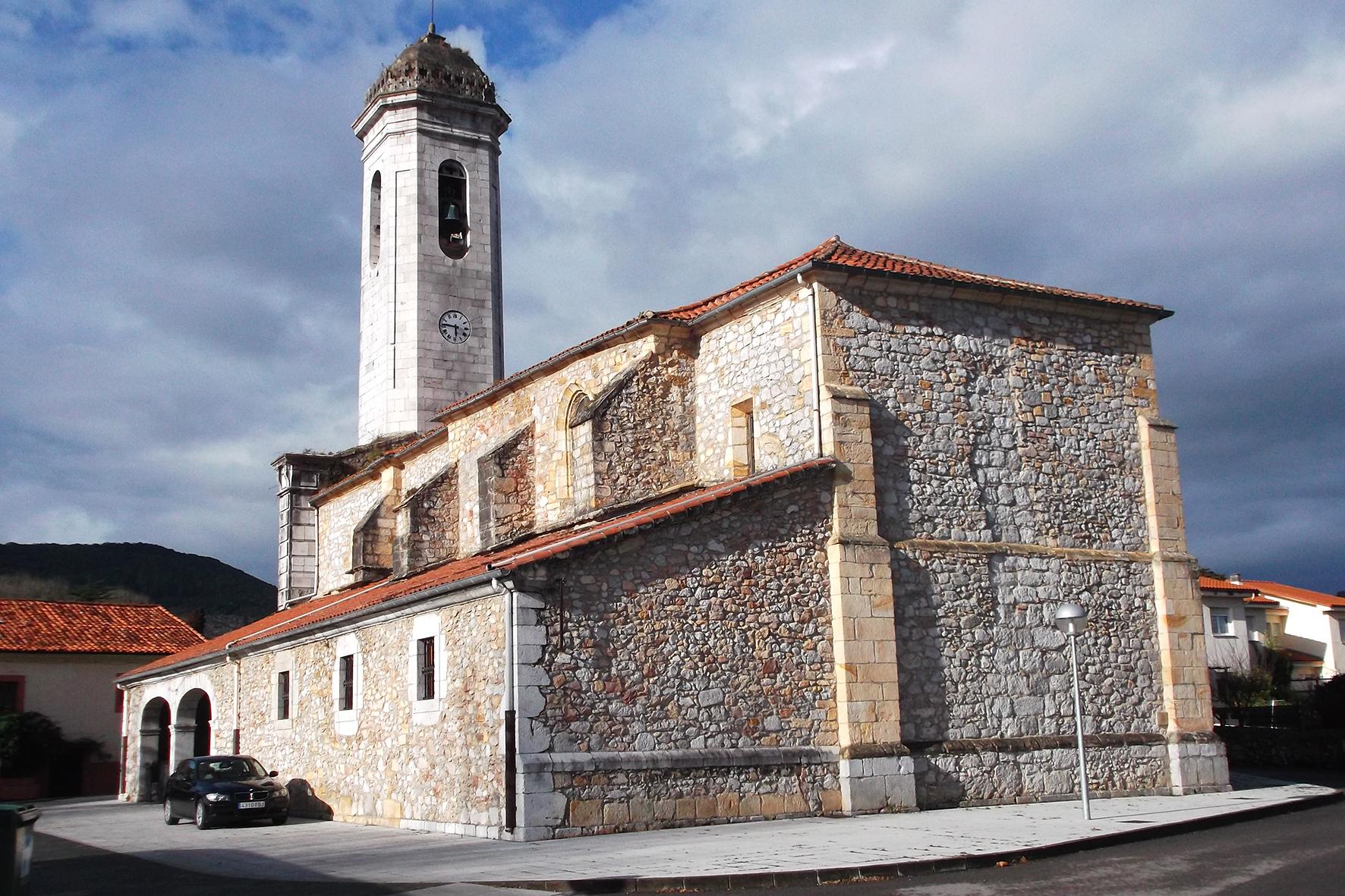 Iglesia de Santa María en Hazas de Cesto