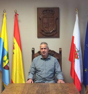 José María Ruiz Gómez, Alcalde del municipio de Hazas de Cesto